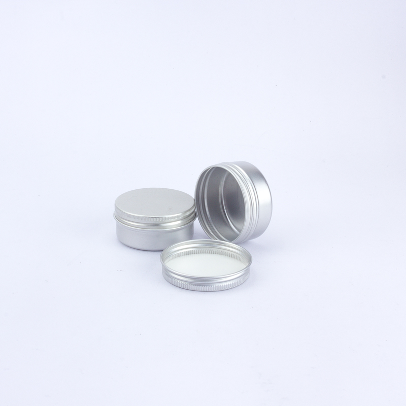 1.75 oz 50 ml ronde opslag tin container met venster voor thee, metalen cilinder thee tin fabriek