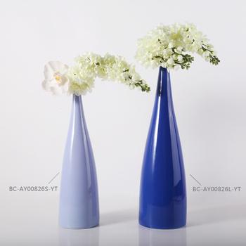 2017 Event Decoration Equipment Modern Tall Flower Vase For Home