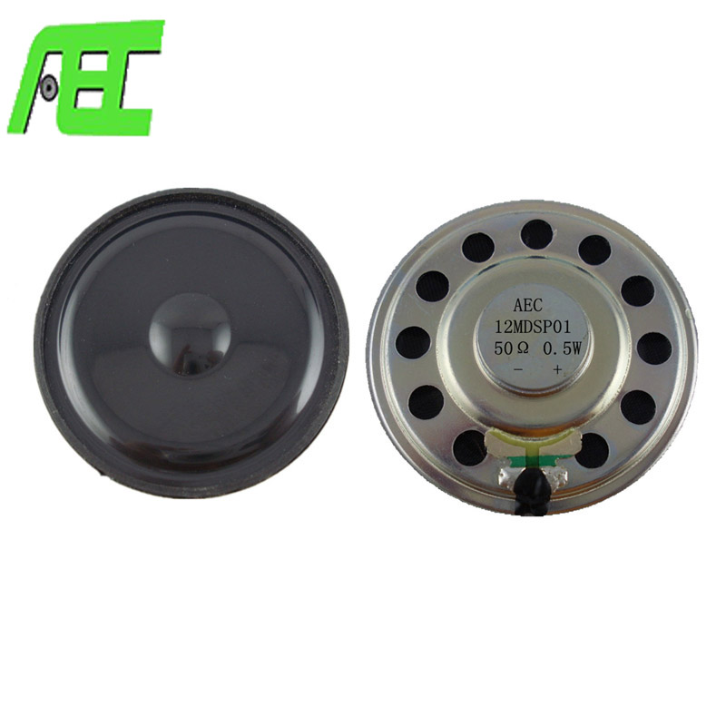 hot sell 50mm 50 ohm 0.5W headphone speaker