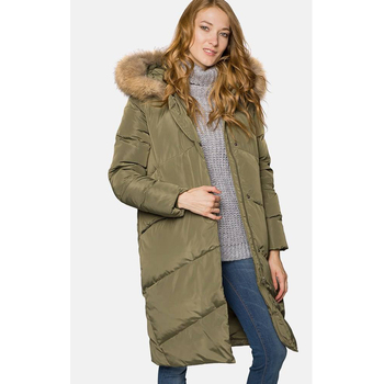 Women Winter Coat Long Winter Down Coat Office Style Outwear Ladies Coat