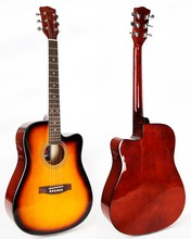 41 inch heldere <span class=keywords><strong>afwerking</strong></span> alle basswood akoestische <span class=keywords><strong>gitaar</strong></span>