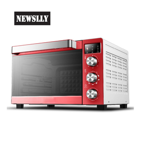High quality kitchen use LED displayed electric countertop toaster deck oven