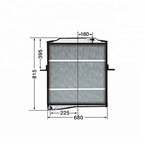 1301010-Q429 Wholesale Manufacturing Water Bus Aluminum Radiator Core For Sale