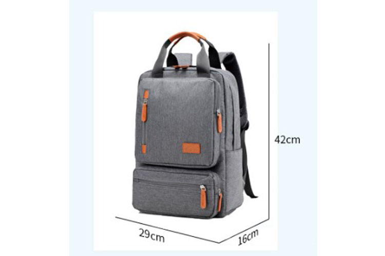 Hot item large space computer bag custom two handles laptop fashion backpack suit 15""