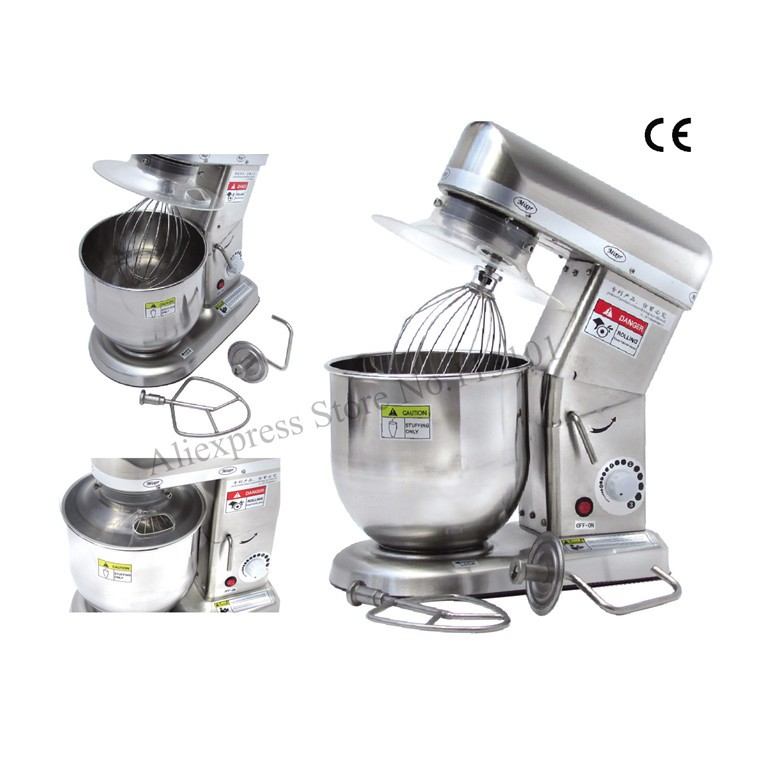 2019 Stainless Steel Stand Mixer Home Use Commercial Dough