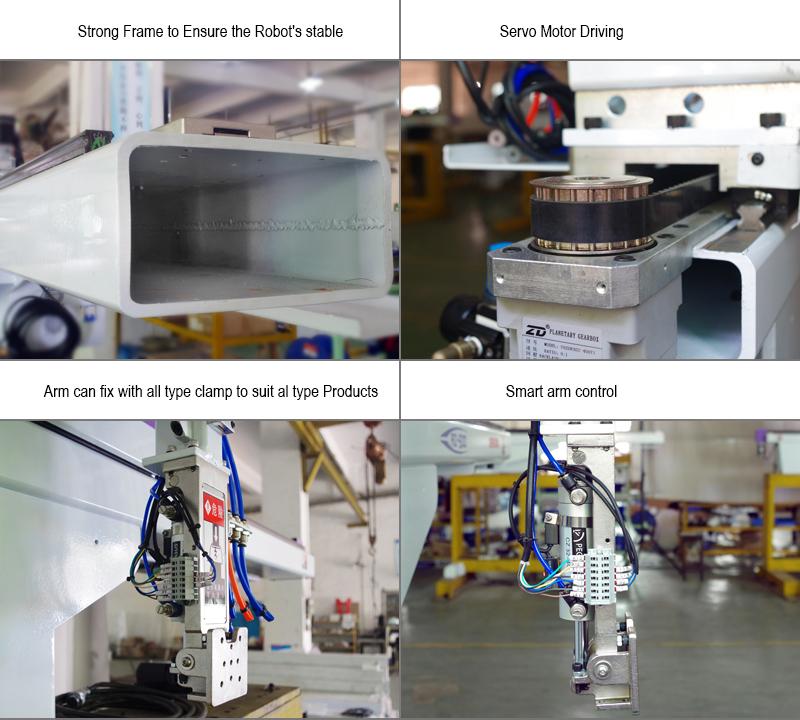 Buona qualità Ad Alta precisione RA-650 scala Manipolatore completamente automatico Macchina di Stampaggio A Iniezione servo robot