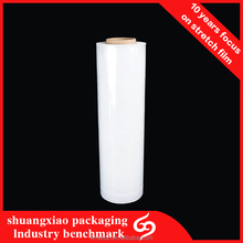 Packing Material Hand Stretch Lldpe Plastic Stretch Wrap Film For Pallet