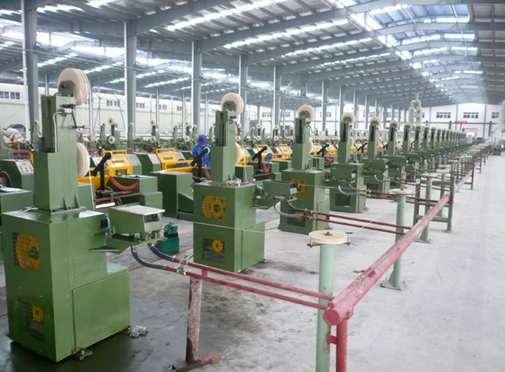 Hot sale Steel wire copper plating line