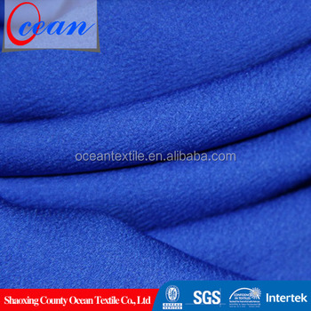 Super Soft Microfiber Brushed Polyester Back Satin Fabric