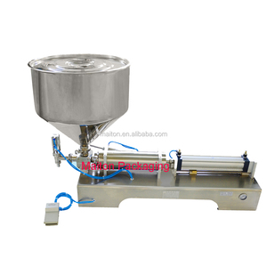 Semi-automatic manual cream and ointment filling and sealing machine