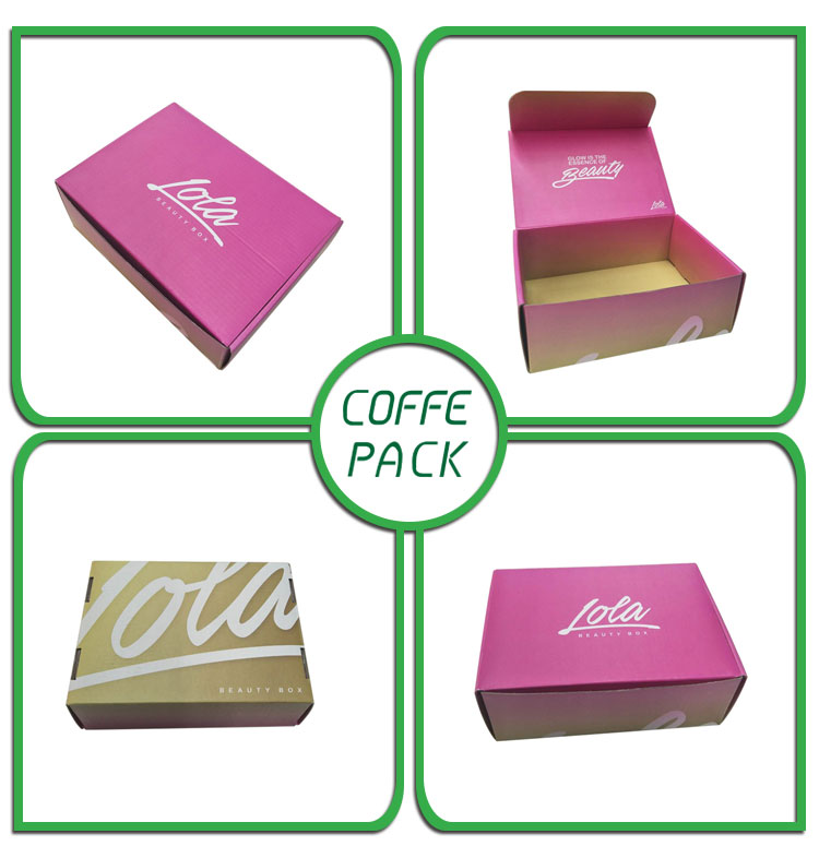 Accept custom corrugated paperboard confectionary box