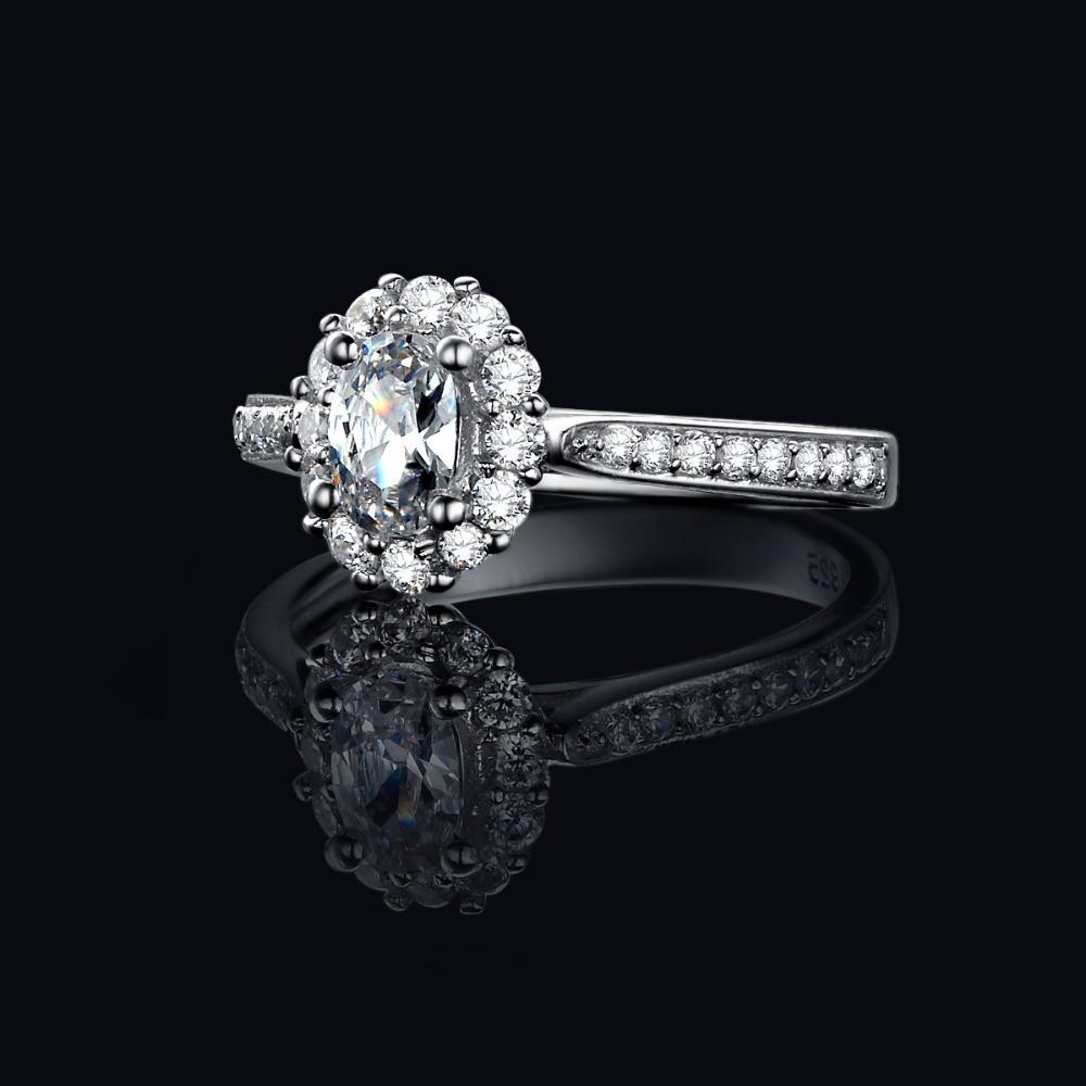 Carat Oval Diamond Ring Halo