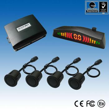 "Car Rear Parking Sensor With Buzzer ""on-off"" Option & Digital ..."
