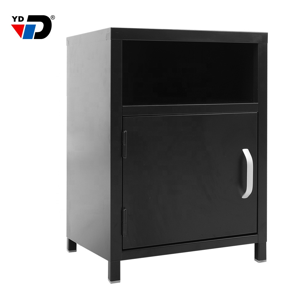 wholesale retail products document cabinet bedroom modern steel cheap rent house metal steel bedside cabinet night stand table