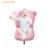 Luxury bathing products float lounger pillow baby bath mat pad support mesh net bed tub mattress for newborn