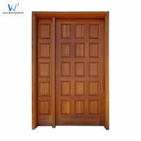 Elegant Durable French Door Width Mahogany Front Door Quality Entry Doors