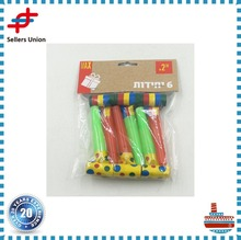 Small Colorful Funny Party Whistle for Kids Children Birthday Party Blowout Toys