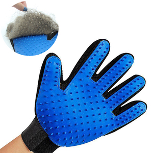 Dog Pet Handling Grooming Gloves Brush