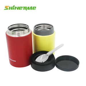 stainless steel lunch box thermos food jar the vacuum water bottle New design