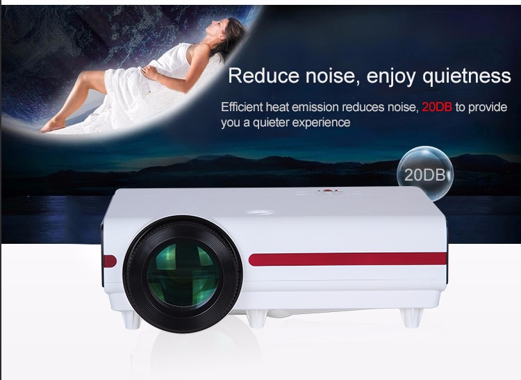 Alibaba express BRILENS Leila Zhong hd 3d led android wifi pico projector