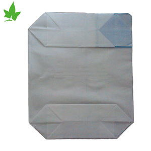 25kg,50kg custom food cement bag packing custom size china heat seal sealing pe valve bag