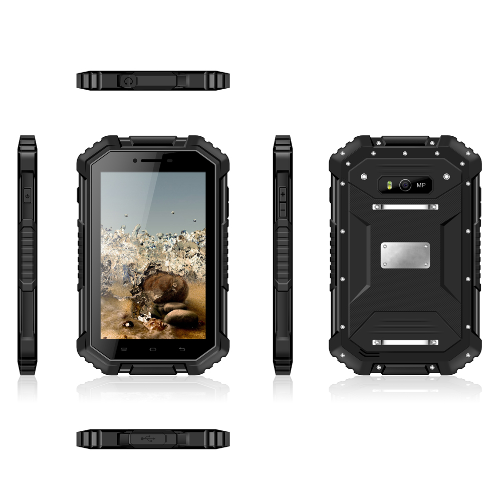 New 7inch IPS 4G LTE Rugged Tablet IP68 NFC Explosion-proof Certification Rugged Tablet