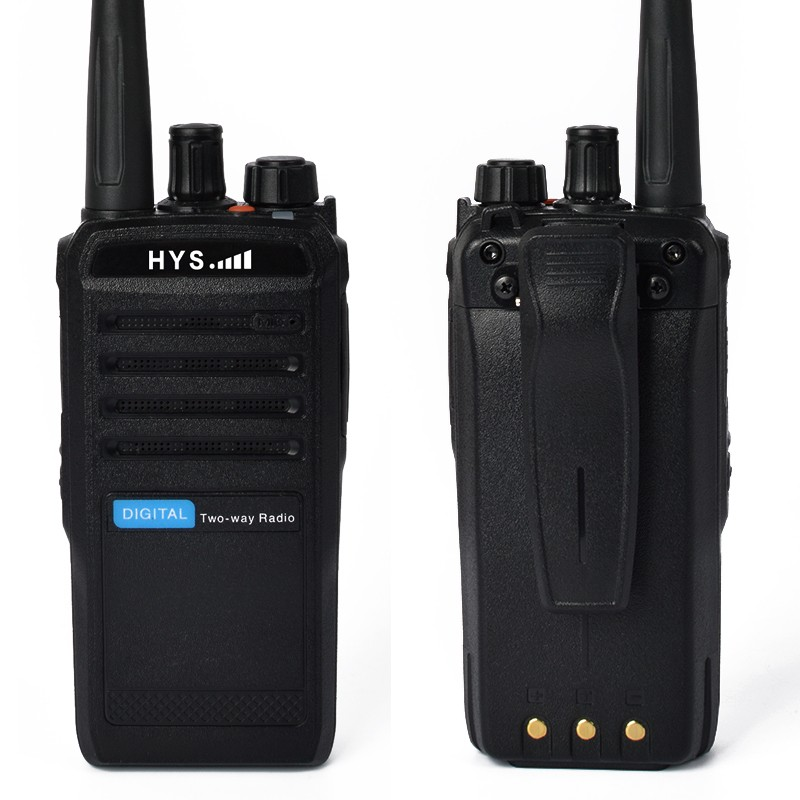 Longo alcance DPMR UHF rádio digital walkie talkie 100km
