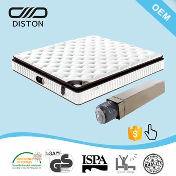 Foshan Golden Supplier 12 Inch Compress Memory Foam Mattress In A