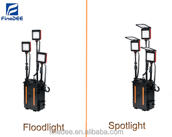 M620 Rals Led Rechargeable Mobile Solar Light Tower