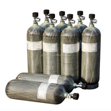 PCP carbon fiber composite gas cylinder used for air breathing apparatus