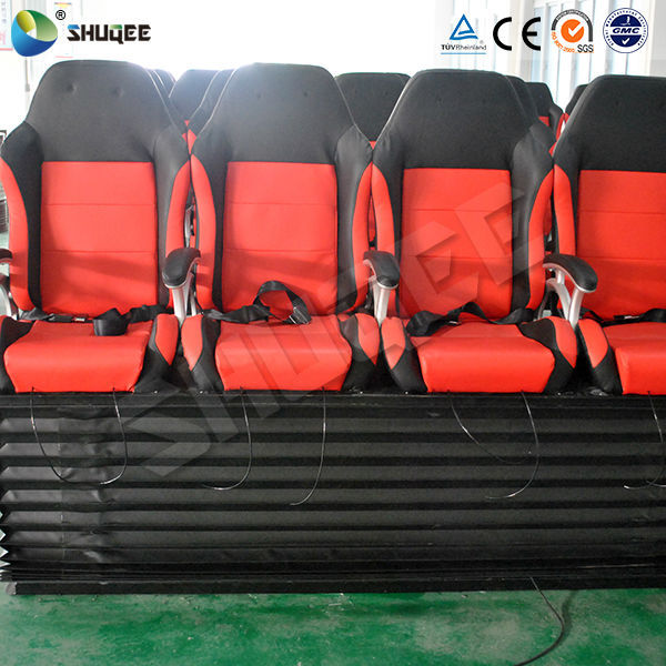 Hydraulic motion home theater recliner chairs 5D cinema 7D cinema 9D cinema