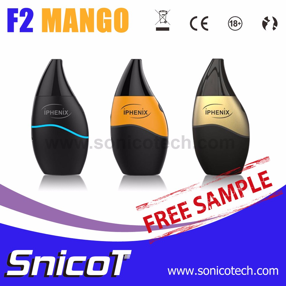 Latest F2 Mango Bottom Filling E Cig Carrying Case Factory in China