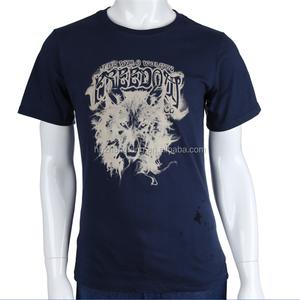 Wholesale 100% Cotton Custom Men T shirt T shirt for Men