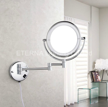 Eterna Led Cosmetic Shop Mirror Wall Mounted Lighted Vanity Makeup