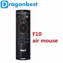 Mele <span class=keywords><strong>F10</strong></span> Deluxe Fly Air Mouse Draadloze Toetsenbord <span class=keywords><strong>muis</strong></span> Afstandsbediening 2.4 GHz 6 Axiale Gyro Game IR