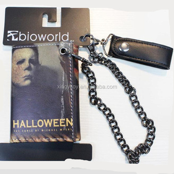 chucky series halloween action figure bioworld wallet hanging waist purse