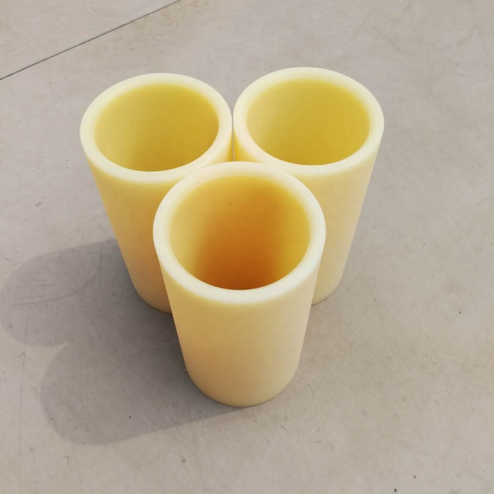 Ptfe Plastic Bushing Nylon Flange Insulating Sleeve Bush