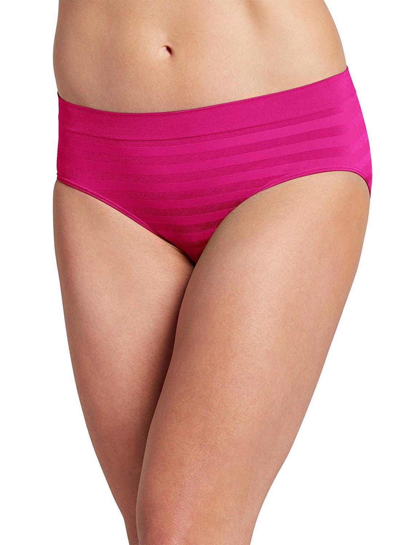9b2fe5403c77 Get Quotations · Jockey Women's Underwear Matte & Shine Seamfree Hipster