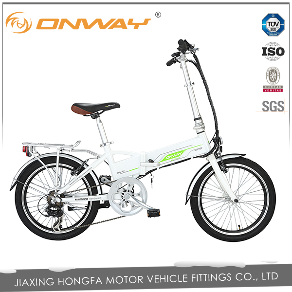 Custom ONWAY 20 inch 24V9AH folding electric bike with factory price