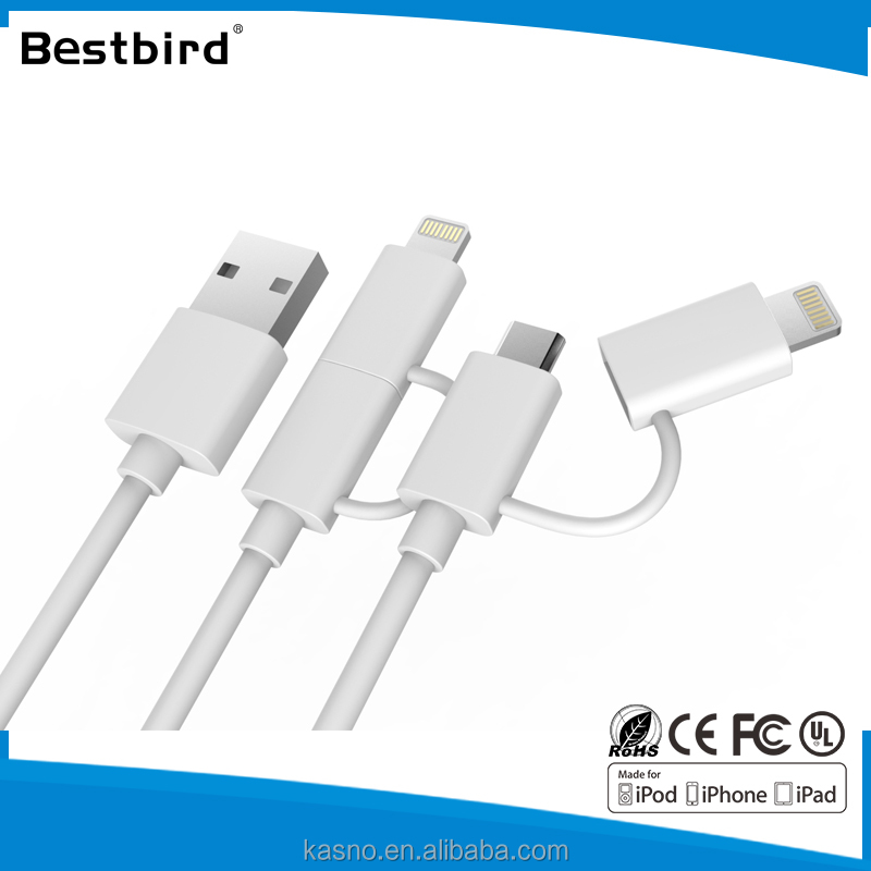 HLT 3 in 1 usb data 3.1 type-c cable