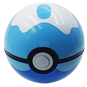 For Pokemon Ball Figures ABS Anime Action Figures For Pokemon Poke Ball Toys Diving Ball