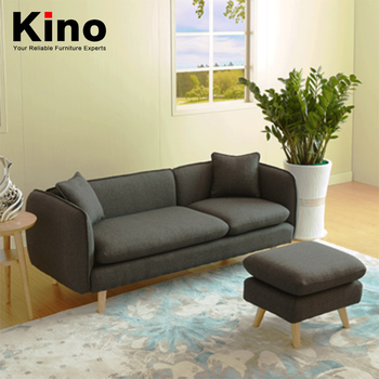 Modern Simple Anese Small Family Nordic Fabric Sofa Single Double Three Bedroom Sitting Room Chair