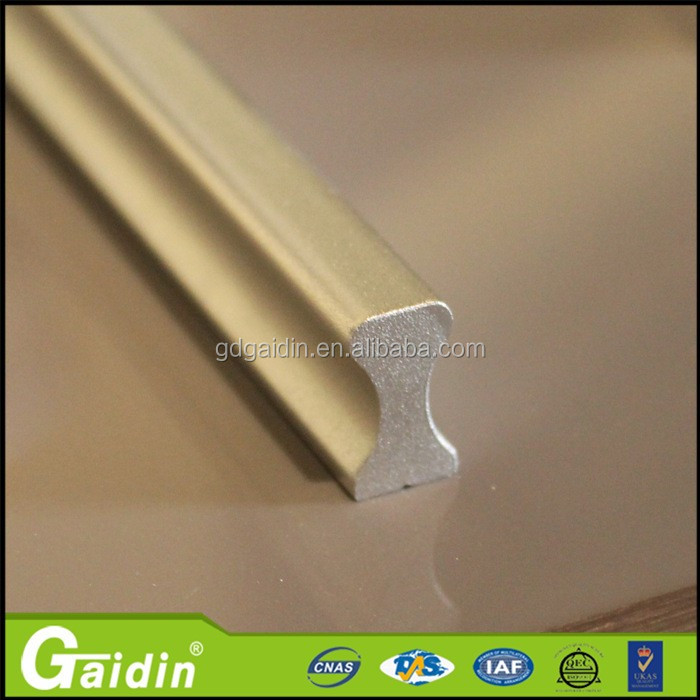 hotel furniture and fittings high quality extruded aluminum drawer pull minimalist tiradores de muebles