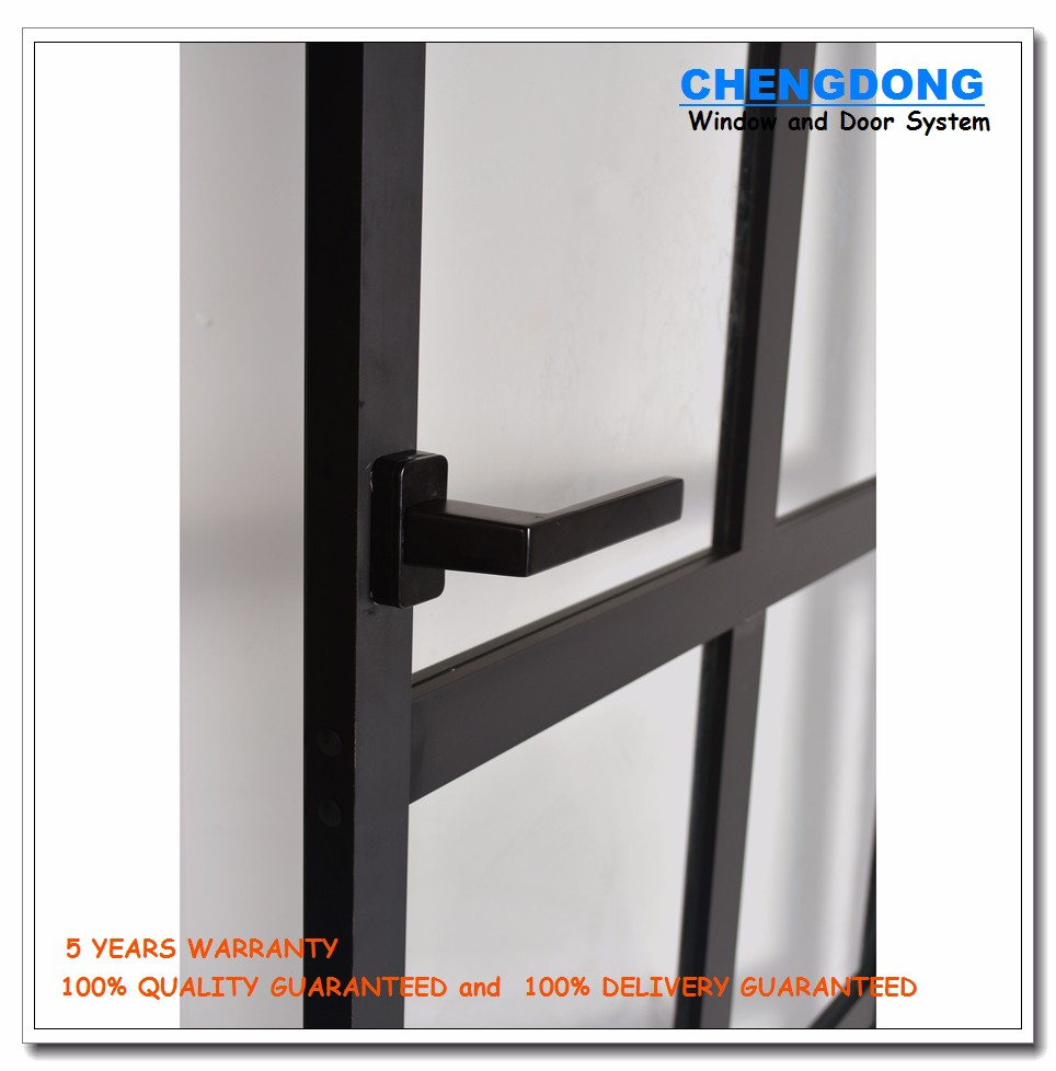 Back Yard Design Aluminum Safety Door/double Glazed Back Door - Buy ...