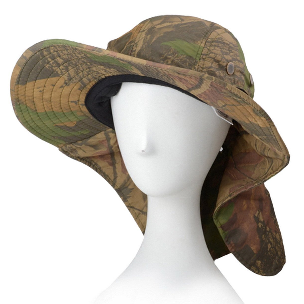 97a5adf51 Buy Panegy Outdoor Large Bill Flap Sun Hat Neck Ear Protection ...
