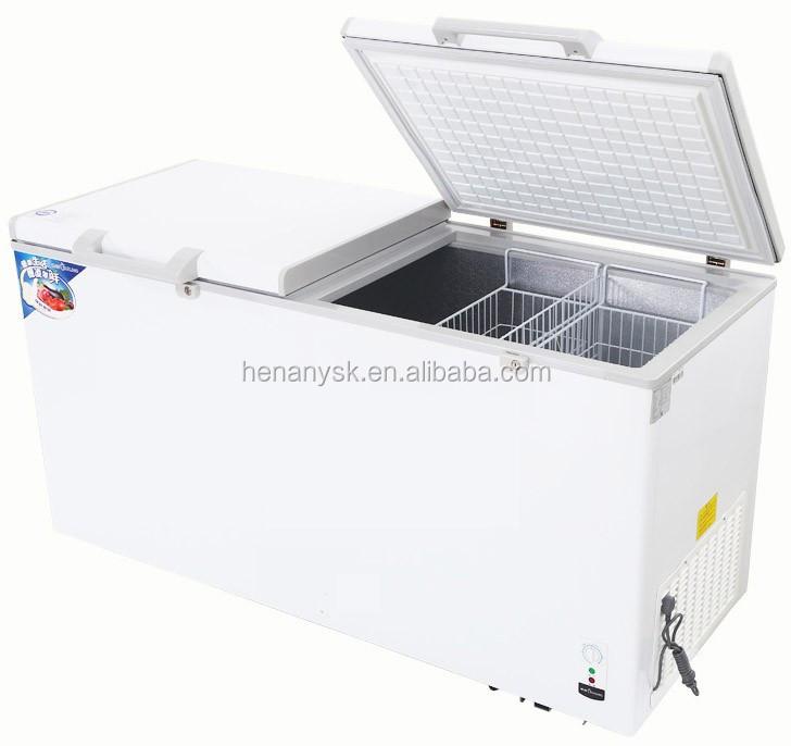 Horizontal Deep Freezer Double Door -18 Degree Chest Freezer