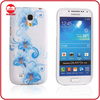 Top Fanky Blue Flower Cell Phone TPU Case for Samsung S4 Mini