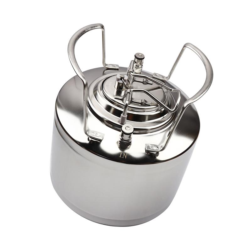 Homebrew Stainless Steel Ball Lock Cornelius Beer Keg 6l
