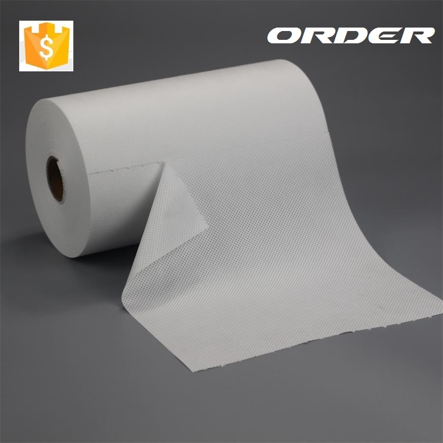 X-3330 White Small Roll 100% Meltblown Polypropylene High Oil Absorbency Farbic