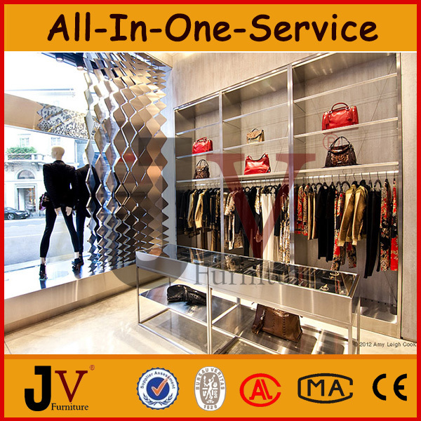 Retail Garment Shop Furniture Used For Clothing Stores